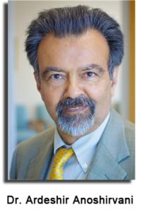 Dr Ardeshir Anoshirvani